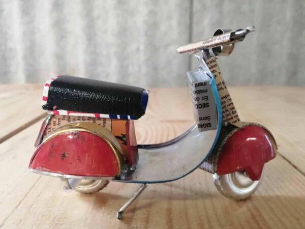 handmade model scooter