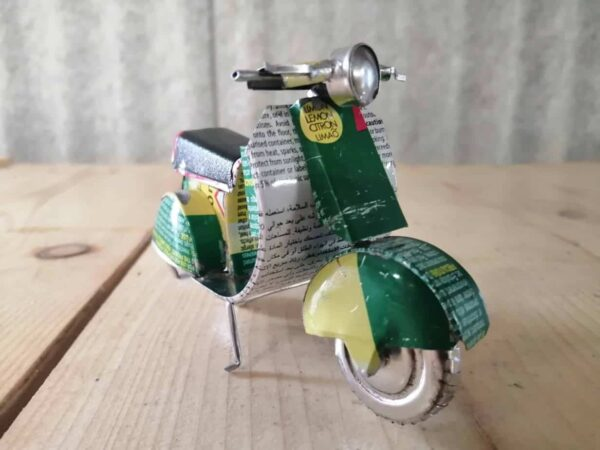 handmade model scooter