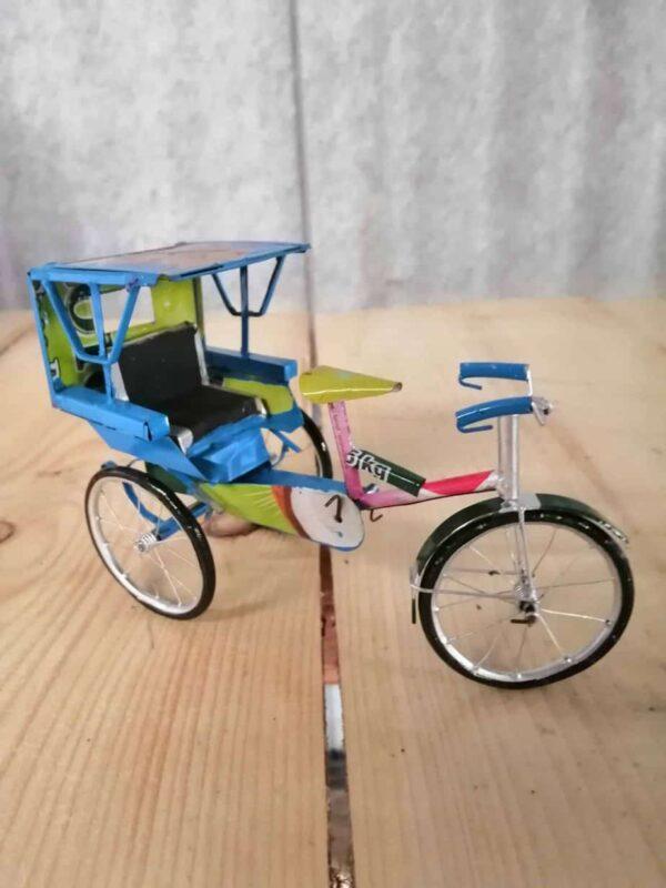 handmade model cycle rickshaw