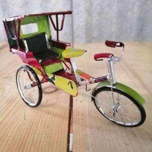 handmade model rickshaw