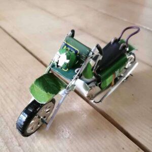 handmade model motorbike