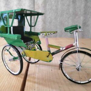 model cycle rickshaw
