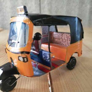 handmade model tuk tuk