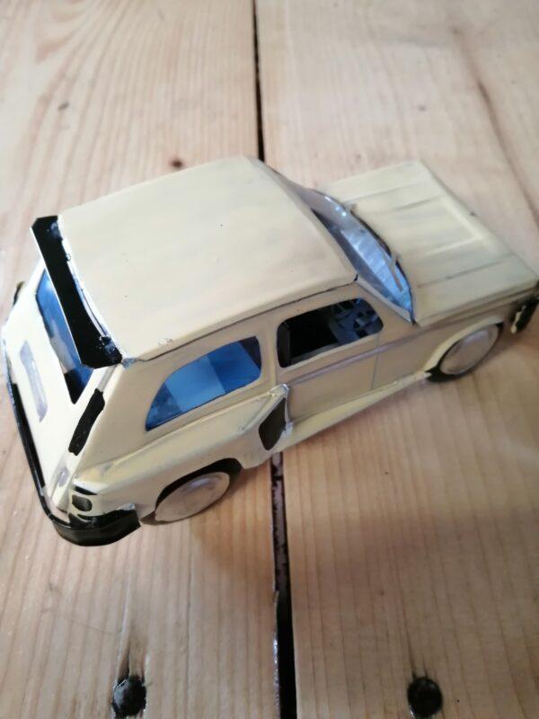 Handmade-model-Renault 5-